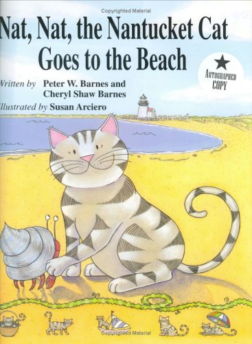 9781893622050: Nat Nat the Nantucket Cat Goes to the Beach