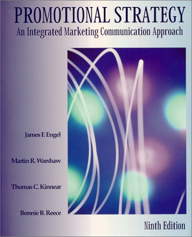 9781893673052: Promotional Strategy : An Integrated Marketing Communication Approach, Ninth Edition