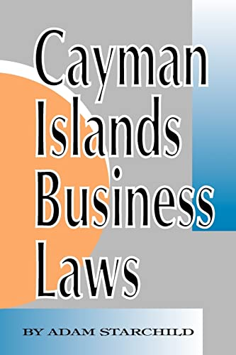 9781893713024: Cayman Islands Business Laws
