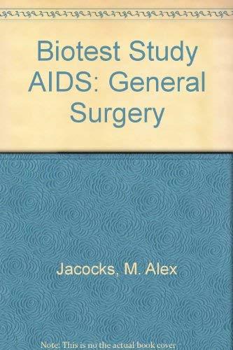 Biotest Study AIDS: General Surgery: Jacocks, M. Alex