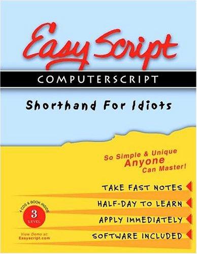 EasyScript / ComputerScript 3 Advanced User / Instructor's Course (No. 3): Levin, ...