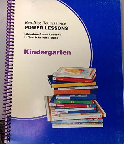 9781893751033: Reading Renaissance: Kindergarten