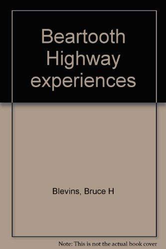 9781893771079: Beartooth Highway experiences