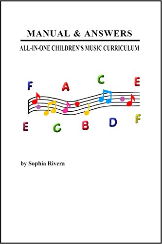 9781893853010: Manual & Answers All-In-One Children's Music Curriculum