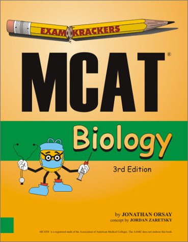 9781893858138: Examkrackers MCAT Biology 3rd Edition