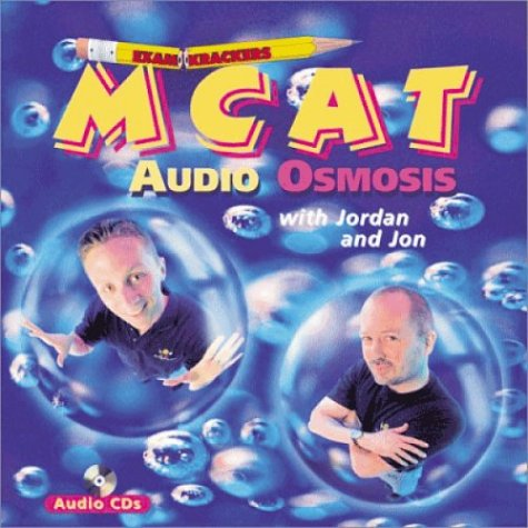 9781893858237: Examkrackers MCAT Audio Osmosis (12 Audio CDs)