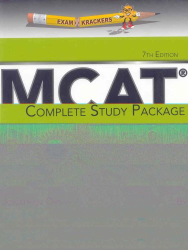 9781893858497: Examkrackers Mcat Complete Study Package