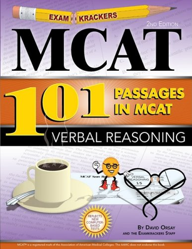 9781893858558: Examkrackers 101 Passages in MCAT Verbal Reasoning