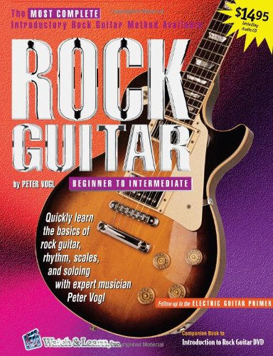 9781893907287: Rock Guitar Book with audio CD