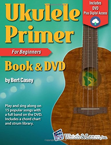 9781893907676: Ukulele Primer Book for Beginners with DVD