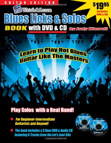 9781893907706: Blues Guitar Licks & Solos Book with DVD & Audio CD