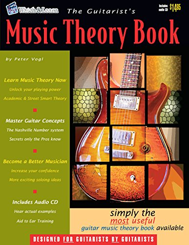 The Guitarist's Music Theory Book (Book &