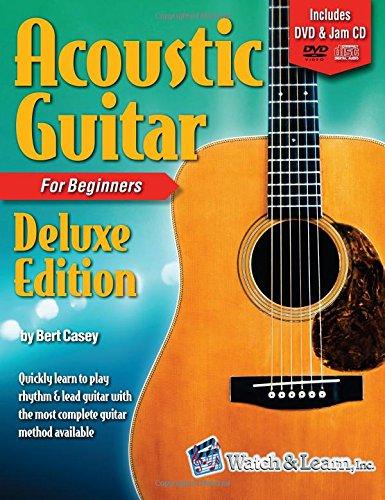 Acoustic Guitar Primer Deluxe Edition Book/DVD/Jam CD: Bert Casey
