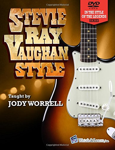 Stevie Ray Vaughan Style Guitar Book with 2 DVDs