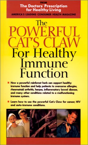 9781893910119: POWERFUL CAT'S CLAW (Doctors' Prescription for Healthy Living)
