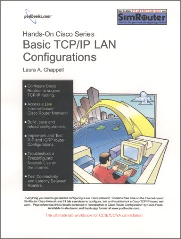 9781893939035: Hands-On Cisco: Basic TCP/IP LAN Configurations (Workbook)
