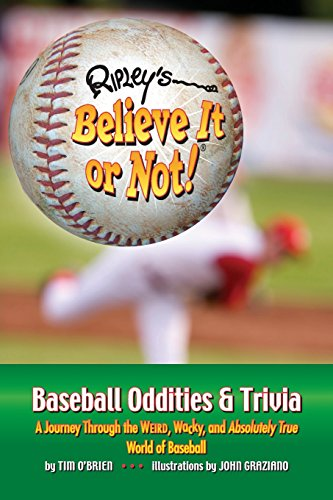 9781893951297: Ripley's Believe It or Not! Baseball Oddities & Trivia