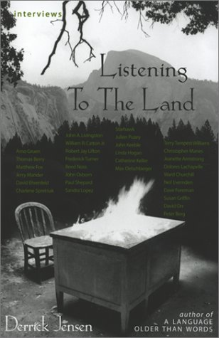 9781893956254: Listening to the Land: Conversations about Nature, Culture and Eros (29 Interviews)