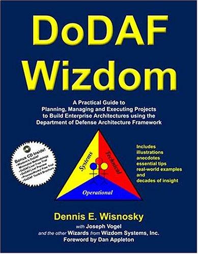 9781893990098: DoDAF Wizdom: A Practical Guide