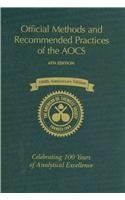 9781893997745: Official Methods and Recommended Practices of the AOCS, 6th Edition, 3rd Printing