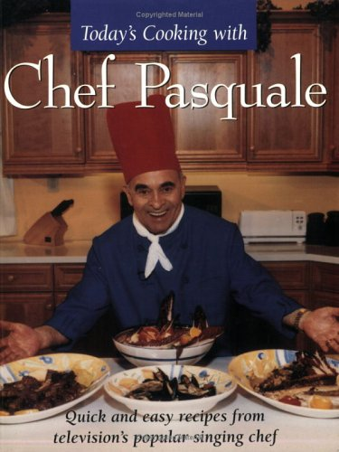 Todays Cooking With Chef Pasquale: Quick and Easy Recipes from Televisions Popular Chef 9781894020640 Television's famous singing chef combines the efficiency and variety of a modern North America kitchen with the timeless flair of classic Italian cuisine. This book captures the remarkable personality of Pasquale Carpino, the popular chef who sings tenor arias while preparing wonderful meals.  When people see my television program, they often ask me why I sing when I am cooking. To me singing a beautiful song and preparing a beautiful recipe are the same. They both give us a chance to find happiness in creativity and to share that joy with others. In music there is an infinity - an endless number of combinations of notes and harmonies which will produce original and lovely melodies. So it is with cooking. The chef is like a composer, creating new recipes and adapting old ones to express the individuality which is found in each of us.  Today's Cooking with Chef Pasquale includes his favorite recipes: * Fresh Preserves * Sauces and Condiments * Antipasto * Soups and Broth * Rice and Grains * Pasta * Fish and Shellfish * Poultry and Game * Meat Dishes (beef, veal, lamb, pork) * Egg Dishes * Vegetable Side Dishes and Entrees * Salads and Dressings * Desserts. The book includes a glossary of cooking terms and ingredients and a comprehensive index.