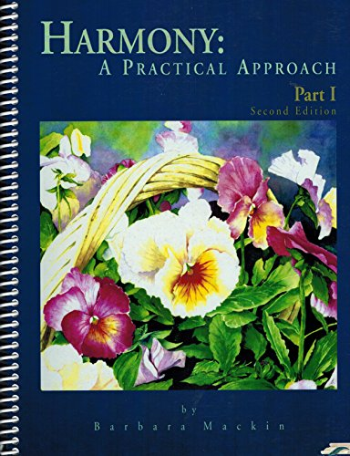 9781894206228: Harmony:a Practical Approach Part I 2nd Edition