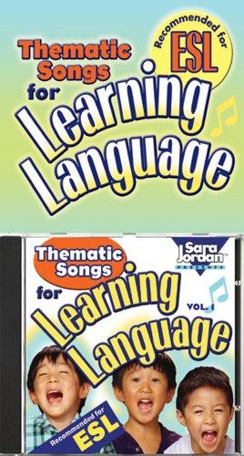 Thematic Songs for Learning Language (CD/Book Kit) (Language Arts): Sara Jordan