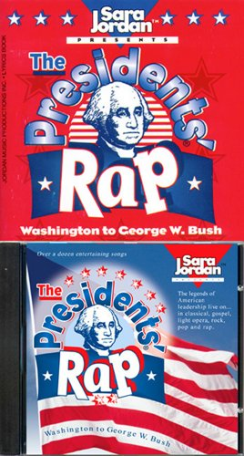 9781894262521: The Presidents' Rap - CD/book kit -NEW VERSION (to George W. Bush) (History)