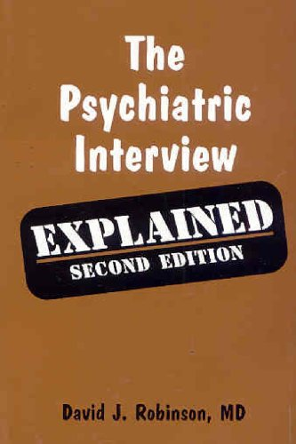 9781894328289: The Psychiatric Interview: Explained