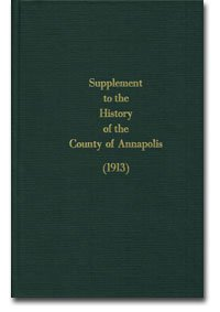 9781894378352: Supplement to the History of the County of Annapolis Correcting and Supplying Omissions in the Original Volume
