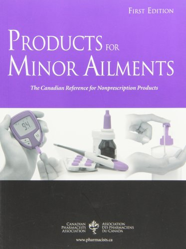9781894402736: Products For Minor Ailments [Paperback]