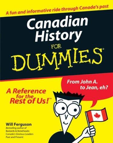 Canadian History for Dummies: Will Ferguson