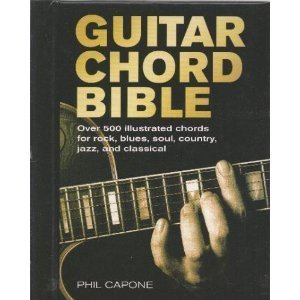 9781894426022: Guitar Chord Bible by Phil Capone (2007) Hardcover