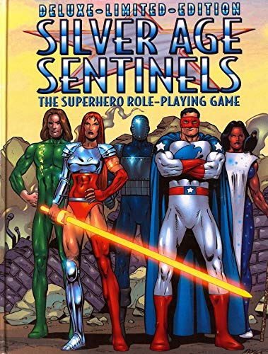 Deluxe-Limited-Edition Silver Age Sentinels. The Superhero Role-Playing Game: Multiple Authors