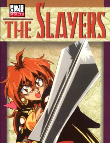 The Slayers: D20 System Role-Playing Game (189452585X) by Ragan, Anthony; Lyons, Michelle
