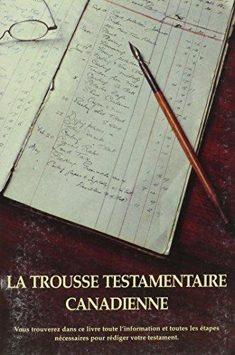 9781894530026: La Trousse Testamentaire Canadienne