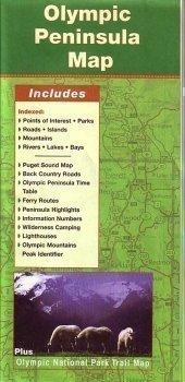 9781894570633: Olympic Peninsula Map