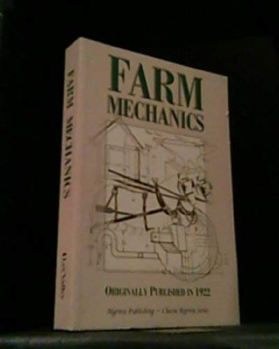 Farm Mechanics by Fred Crawshaw (2004) Paperback: Fred d and