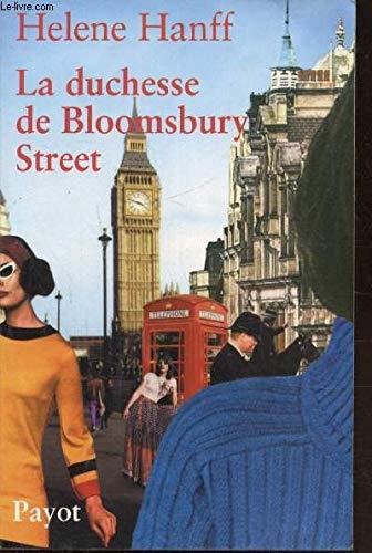 9781894572668: The Duchess of Bloomsbury Street (Classic Reprint Ser.)