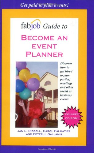 9781894638548: FabJob Guide to Become an Event Planner