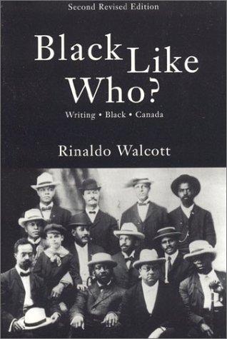 9781894663403: Black Like Who?: Writing Black Canada