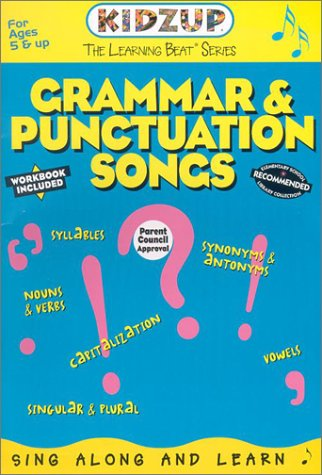 9781894677318: Grammar & Punctuation Songs (Learning Beat Series)