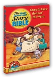 The Most Important Story Bible (Soft Cover) (English and Spanish Edition): David Hunt