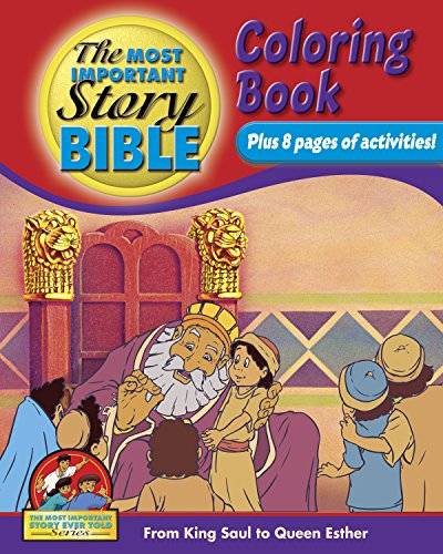 9781894685733: Coloring And Activity Book Vol 2 - English: From King Saul To Queen Esther