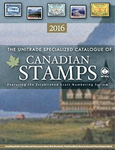 9781894763530: Unitrade Canada Specialized Canada Stamp Catalogue 2016 edition