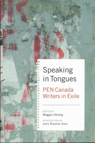 Speaking In Tongues: Writers In A New: Helwig, Maggie (Ed);
