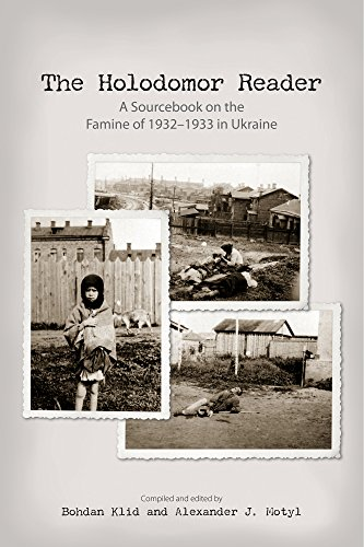 9781894865296: The Holodomor Reader: A Sourcebook on the Famine of 1932-1933 in Ukraine