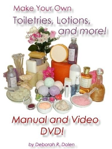 9781894872126: Make Your Own Lotion, Toiletries, and More! (Manual and DVD Video)