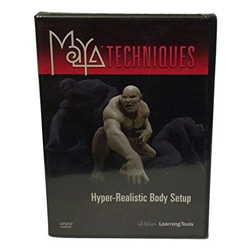 9781894893817: Maya Techniques Hyper Realistic Body Setup