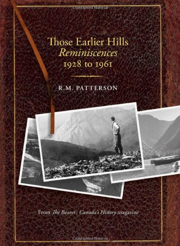 Those Earlier Hills Reminiscences 1928 1961